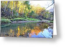 Canyon Autumn 2 Greeting Card