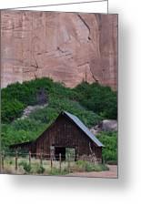 Canyon Barn Greeting Card