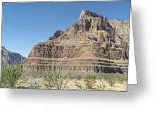 Canyon Base At The Grand Canyon Greeting Card