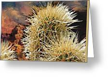 Canyon Cactus Greeting Card