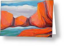 Canyon Dreams 14 Greeting Card