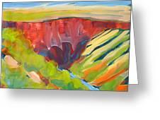 Canyon Dreams 15 Greeting Card