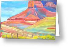 Canyon Dreams 21 Greeting Card