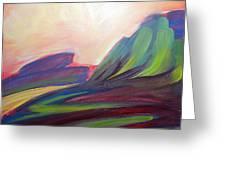 Canyon Dreams Sunset Greeting Card