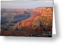 Canyon Dusk Greeting Card