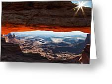 Canyon Glow Greeting Card