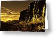 Canyon Hunt Greeting Card
