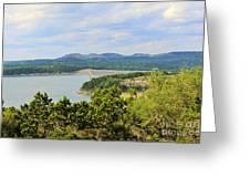 Canyon Lake Dam Greeting Card