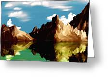 Canyon Lake Greeting Card