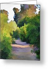 Canyon Path IIi Painterly Greeting Card