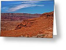 Canyon Rim Greeting Card