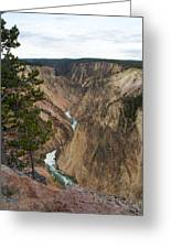 Canyon River Greeting Card