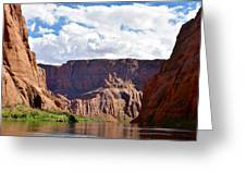 Canyon Rocks Greeting Card