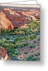 Canyon Shadows Greeting Card