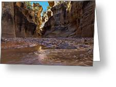 Canyon Stream Greeting Card