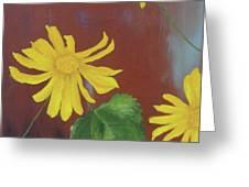 Canyon Sunflower Greeting Card