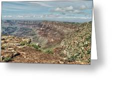 Canyon View From Navajo Point Greeting Card