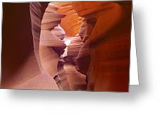 Canyon Walls  Greeting Card