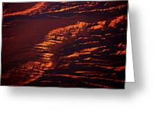 Canyonland From 36k Greeting Card