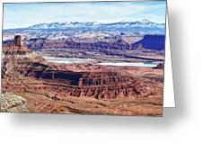 Canyonland Panorama Greeting Card