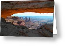 Canyonlands Arch Greeting Card