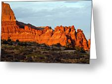 Canyonlands At Sunset Greeting Card