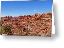 Canyonlands National Park - Big Spring Canyon Overlook Greeting Card