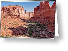 Arches National Park, Moab, Utah Greeting Card