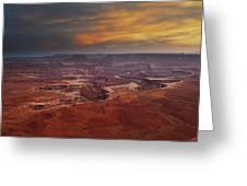 Canyonlands Overlook Utah Greeting Card