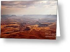 Canyonlands Panorama Greeting Card
