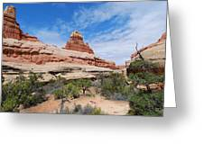 Canyonlands Spring Landscape Greeting Card