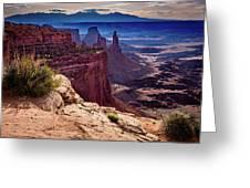 Canyonlands Vista  Greeting Card by John Hight