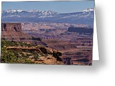 Canyons Of Dead Horse State Park Greeting Card