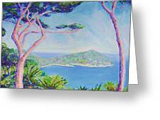 Cap Ferat Provence Greeting Card
