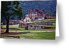 Cap-haitien Haiti - Sans Souci Palace Greeting Card