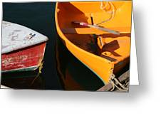 Cape Ann Boats Greeting Card