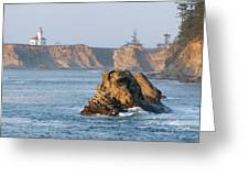 Cape Arago Lighthouse Greeting Card