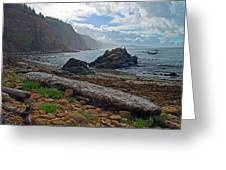 Cape Arago Oregon Greeting Card