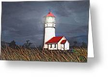 Cape Blanco Glow Greeting Card