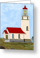 Cape Blanco Oregon Greeting Card