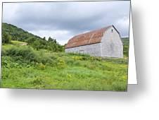 Cape Breton Barn Greeting Card