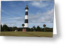 Cape Canaveral Florida Light Greeting Card