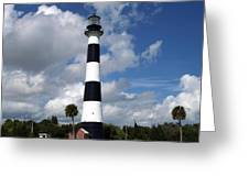 Cape Canaveral Light Florida Greeting Card