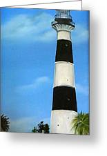 Cape Canaveral Lighthouse Greeting Card