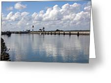 Cape Canaveral Locks In Florida Greeting Card