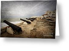 Cape Coast Castle Greeting Card