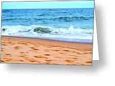 Cape Cod Beach Day Greeting Card