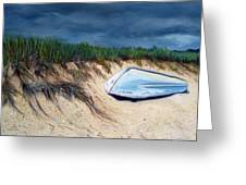 Cape Cod Boat Greeting Card