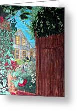 Cape Cod Cottage Greeting Card