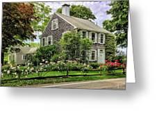 Cape Cod Floral Greeting Card